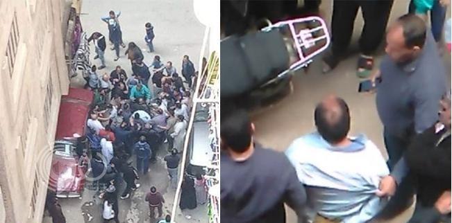 """مصري يقتل إمام مسجد في صلاة الجمعة ويصيح """" أنا المهدي المنتظر وأنت إبليس"""" – فيديو وصور"""