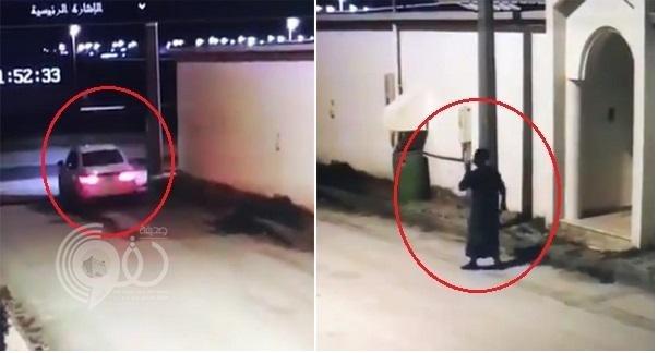 شاهد.. خادمة غينية تهرب من منزل كفيلها ليلًا وهي تحمل كيسًا ممتلئ.. ومغردون يكشفون محتوياته!