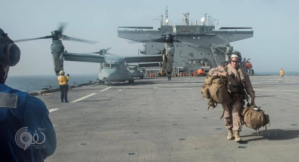 بيان من الأسطول الأميركي الخامس في الخليج العربي