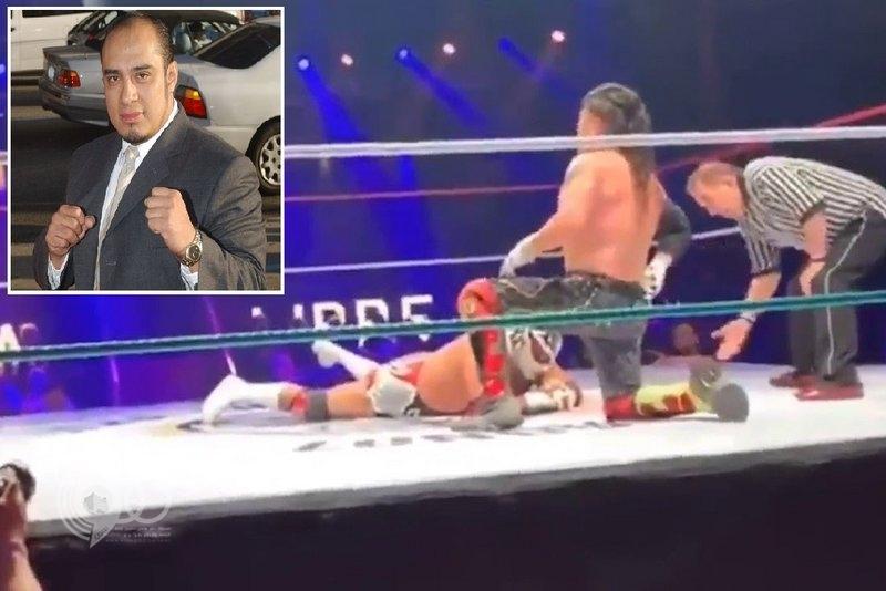 فيديو مأساوي .. لحظة موت مصارع شهير أثناء نزال في لندن