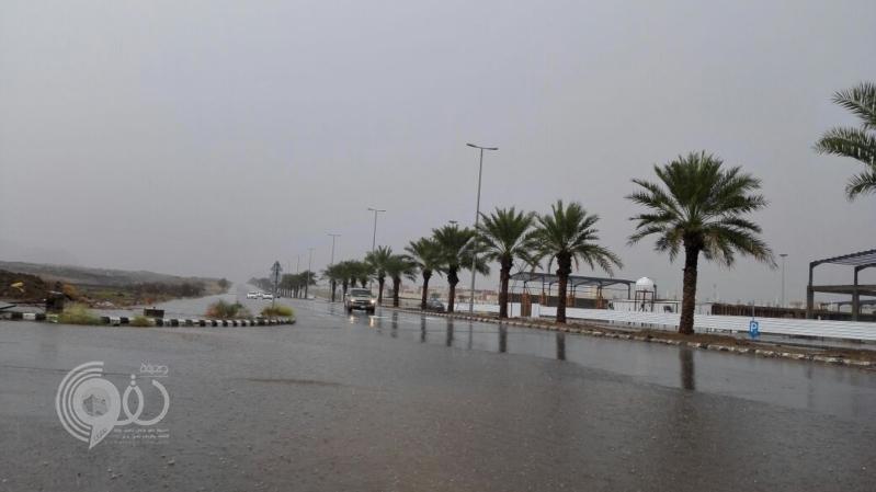 أمطار ورياح على جازان حتى التاسعة والمدني يحذر