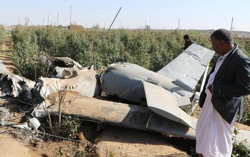 قوات الدفاع الجوي تعترض طائرة مسيرة للحوثيين فوق نجران
