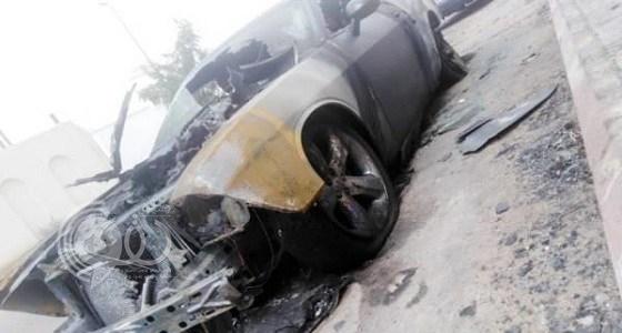 آخر التفاصيل في حادث الممرضة التي احترقت مركبتها عمدا بالمدينة المنورة