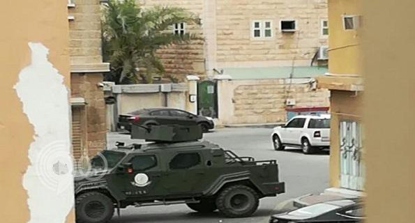 مقتل مطلوبين في تاروت القطيف بعد تبادل لإطلاق النار-فيديو