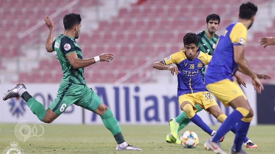 بالفيديو .. النصر يتعادل أمام ذوب آهن ويضرب موعداً مع الوحدة الإماراتي