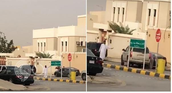 شاهد بالفيديو .. مشاجرة بين سائقين في حي بالرياض تنتهي بانتقام صادم !