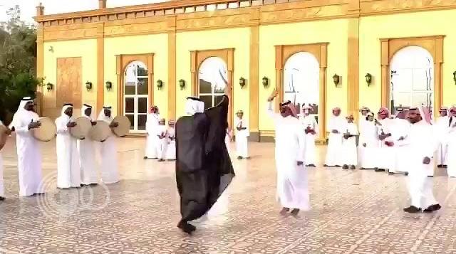 بالفيديو: لاعب النصر يحتفل بزفافه في نجران
