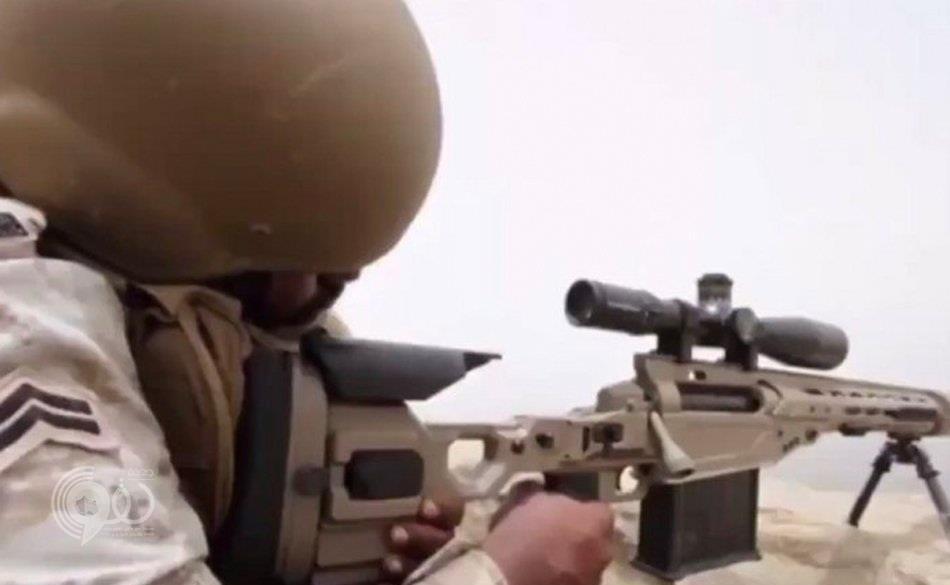شاهد.. قناص سعودي يصطاد عناصر الحوثي بصعدة من مسافات بعيدة