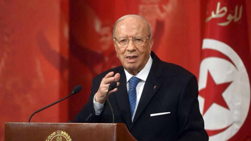 الرئاسة التونسية: وفاة الرئيس «السبسي»