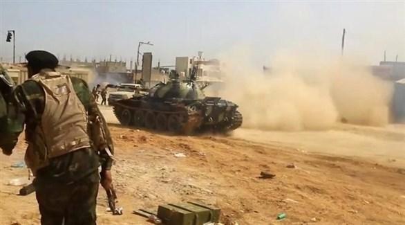 الجيش الليبي يستهدف غرفة التحكم بالطيران التركي في مصراته