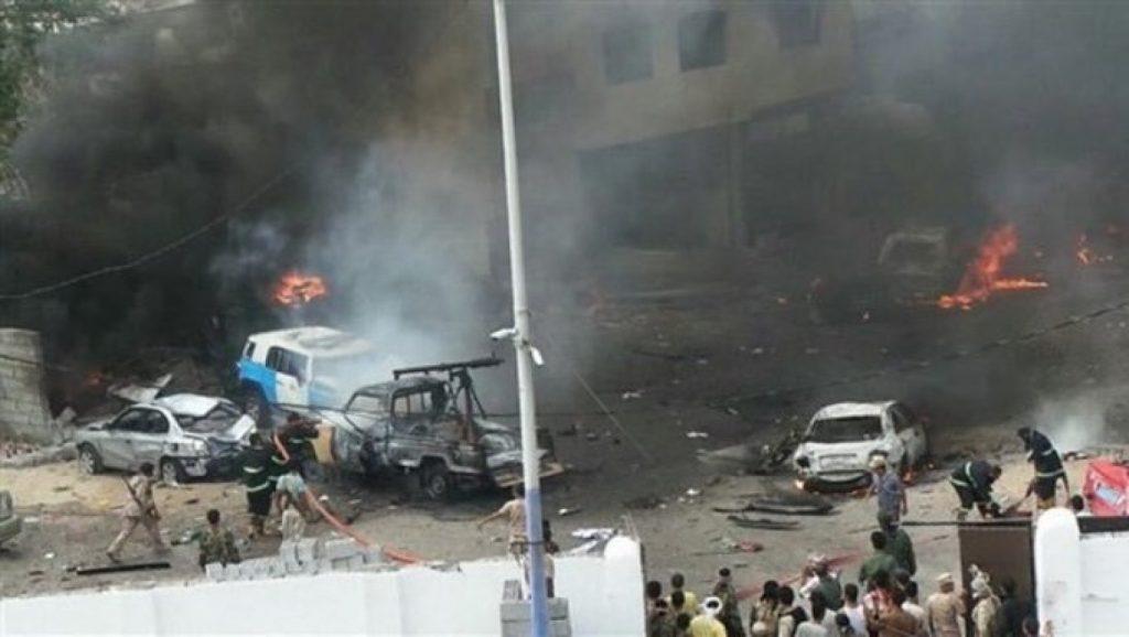 عشرات القتلى والجرحى في هجومين إرهابيين بعدن.. والحوثي يعلن مسؤوليته