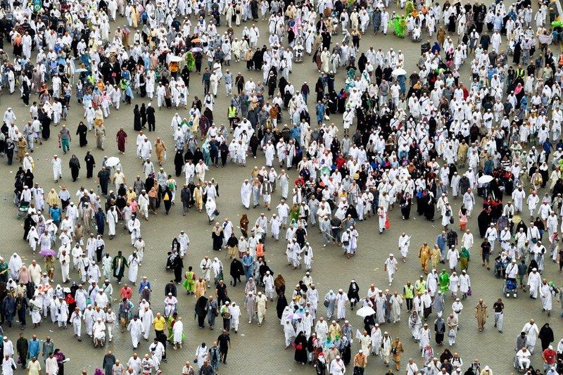 232  ألفاً من مسلمي أوروبا وأمريكا وأستراليا أدوا فريضة الحج