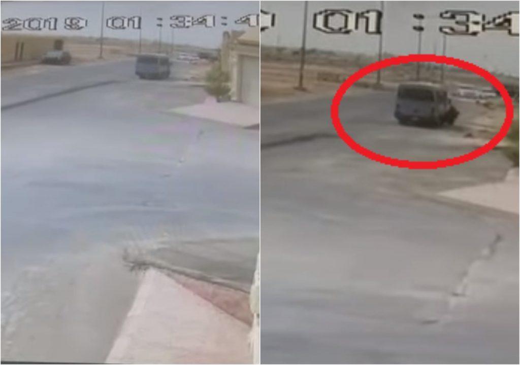 """وفاة """" الطالبة """" التي دهسها """"باص"""" مدرسي في الرياض بسبب العباءة!.. ومغردون يكشفون عن عمرها واسمها"""
