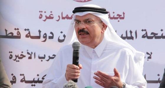 ضجة عارمة وهجوم حاد بعد تصريحات سفير قطر في غزة