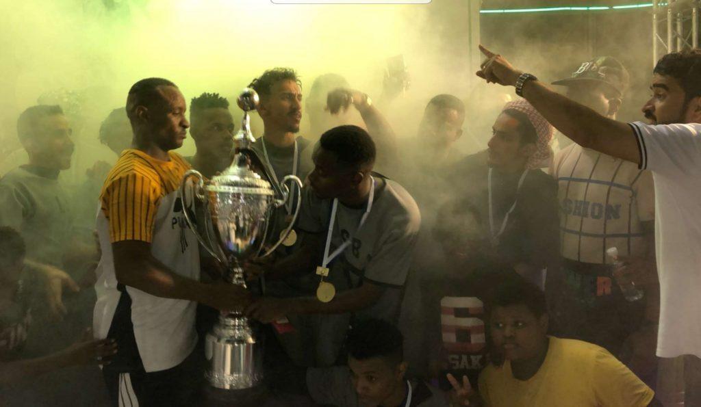 """مركز الحقو : فريق """"اللصبة روما"""" يُحقق كأس بطولة """"همة حتى القمة"""" ويقسو على """"القوام ستي"""" برباعيه"""