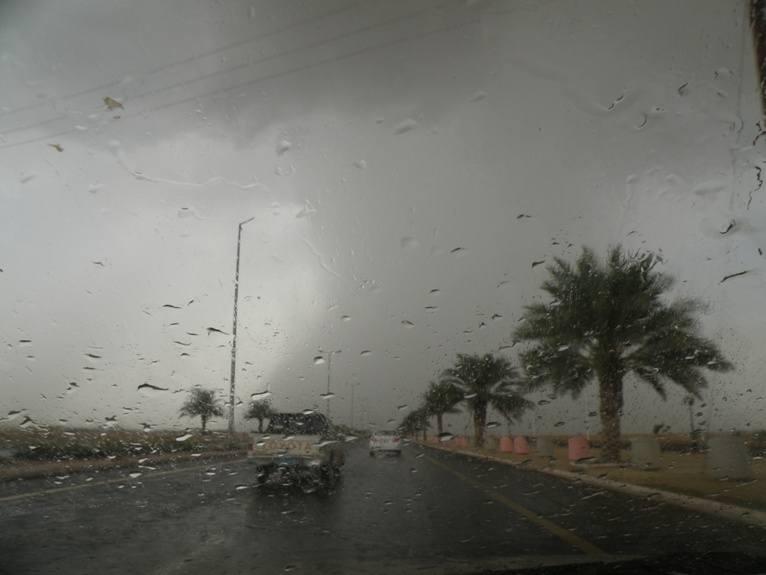 المدني يحذر من أمطار #جازان : تستمر حتى الثامنة