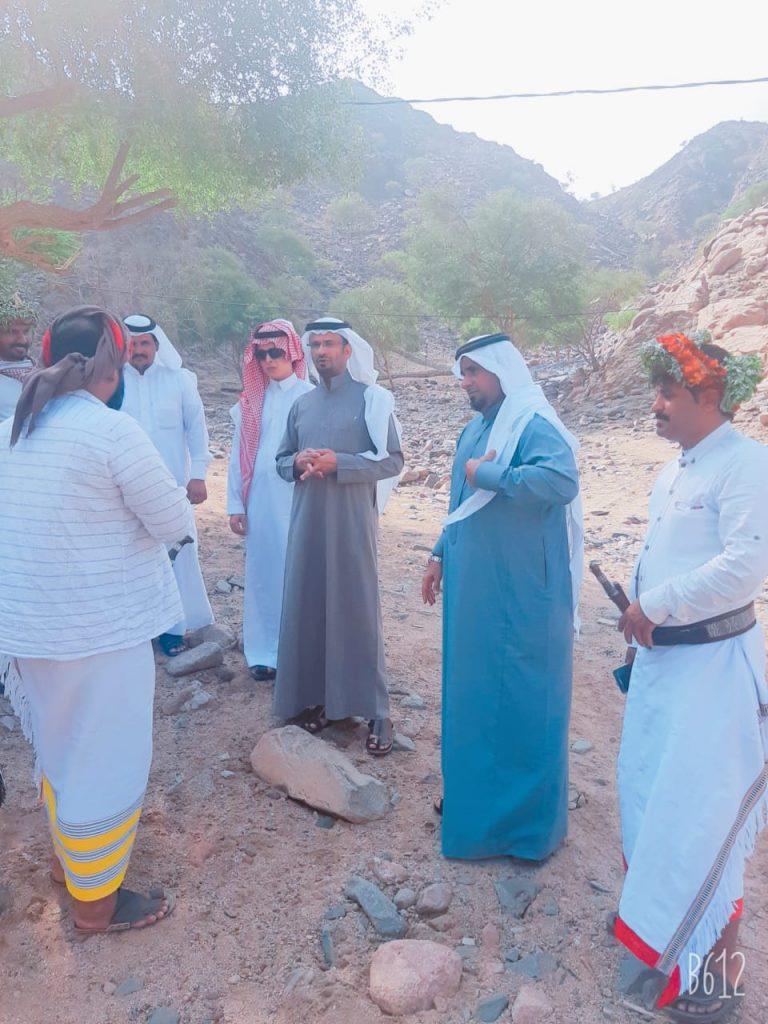 بناءً على توجيهات سمو أمير جازان وسمو نائبه شاهد بالصور محافظ محافظة الريث في زيارة لمركز ملاطس