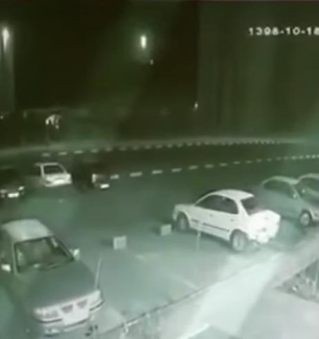 فيديو يوثق لحظة إطلاق الصاروخ الإيراني باتجاه الطائرة الأوكرانية