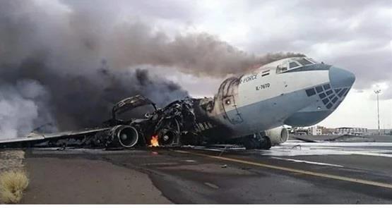 سقوط طائرة عسكرية أمريكية في أفغانستان ومقتل جميع ركابها