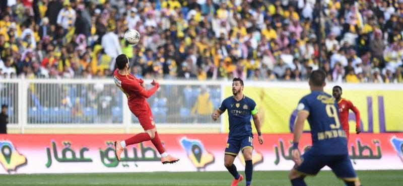 بالفيديو.. النصر يتعادل مع ضمك في افتتاح مباريات الجولة 16