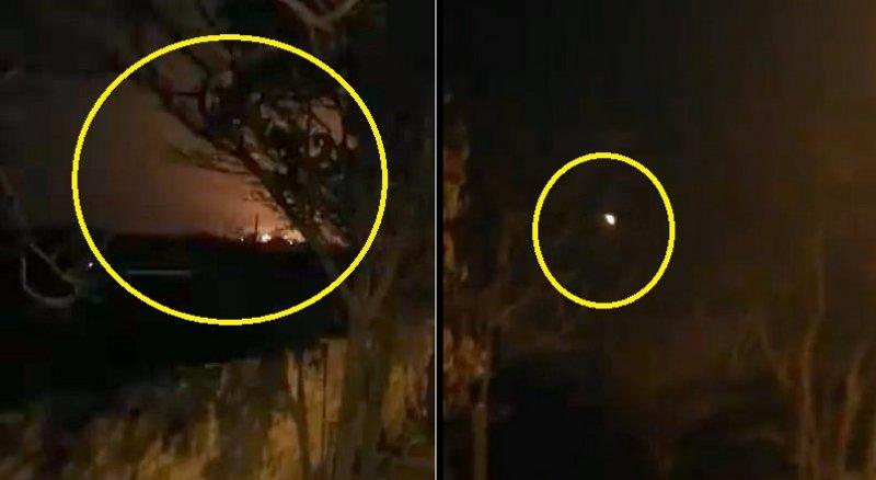 بالفيديو .. لحظة سقوط الطائرة الأوكرانية فوق طهران ومصرع جميع ركابها