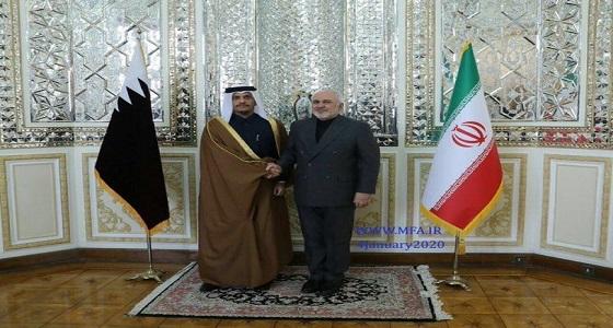 إيران تعلق على زيارة وزير خارجية قطر: الرد اتخذ ولا رجعة فيه!