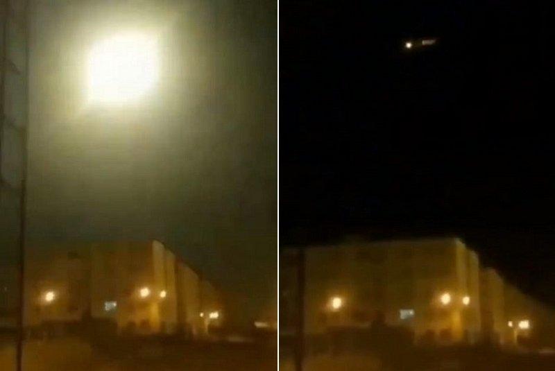 شاهد .. لحظة ضرب الطائرة الأوكرانية بصاروخ إيراني