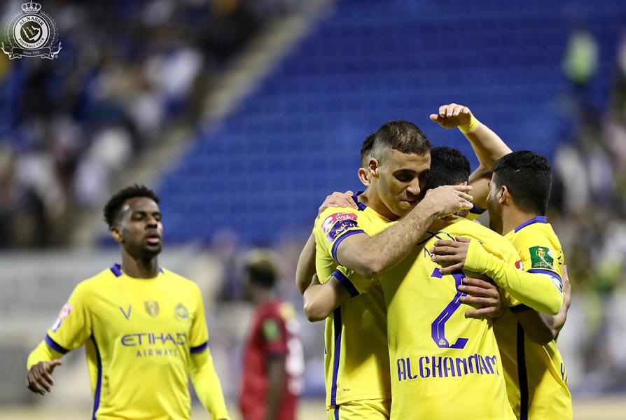 النصر يفوز على العدالة بهدف ويتأهل لنصف نهائي كأس الملك (فيديو)