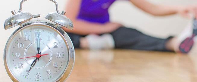 أفضل أوقات ممارسة الرياضة لفقدان الوزن الزائد