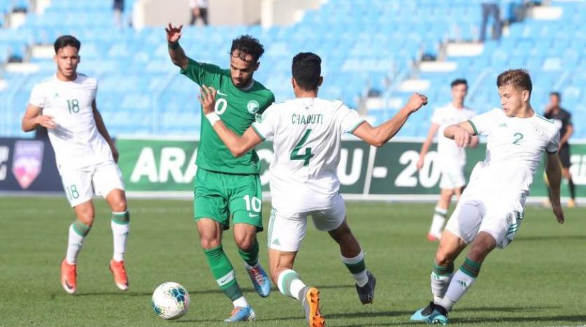 الأخضر الشاب يودع كأس العرب من دور المجموعات