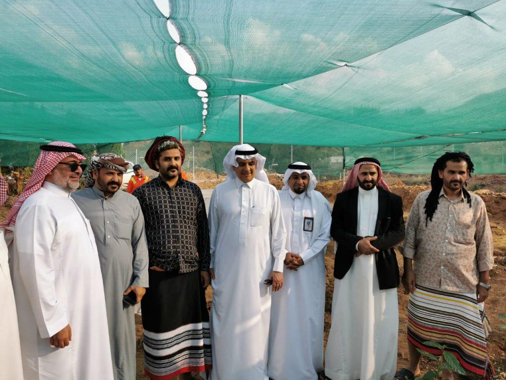 وزير البيئة والمياه والزراعة يفتتح أول مزرعة بُن نموذجيه بمحافظة الريث – صور
