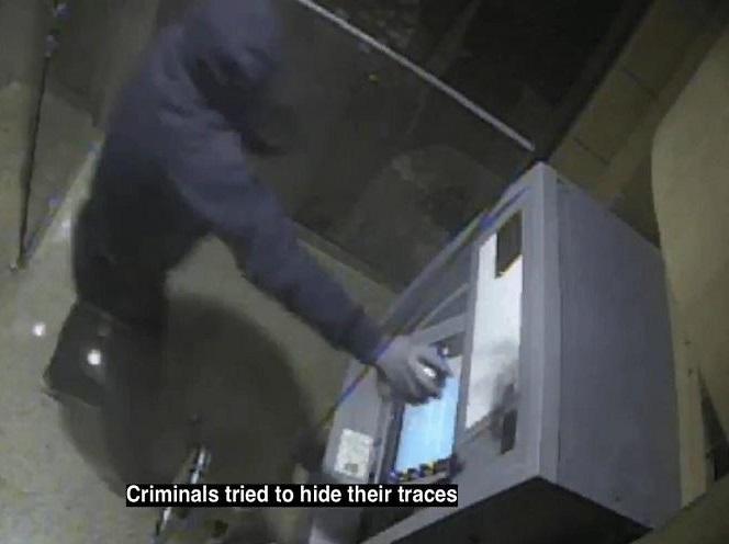 شاهد : فيديو جديد يكشف طريقة تفجير الصراف الآلي بالرياض .. وكيف تم ضبط الجناة – تفاصيل