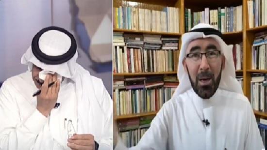 """""""الإخبارية"""" تفاجئ مذيعها جبريل أبودية بتقرير من منزله بجازان (فيديو)"""
