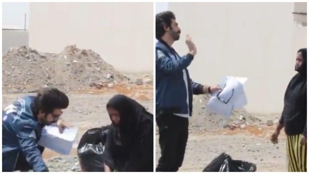 """شاهد: مشهور مواقع التواصل الكويتي """"علي البلوشي"""" يتحرش بعاملة منزل .. وإجراء عاجل من الشرطة !"""