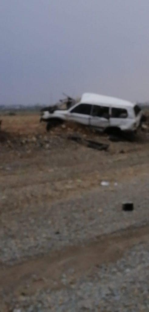عاجل .. حادث انقلاب مروع على طريق الحقو – الريث يُخلّف وفاة وإصابات