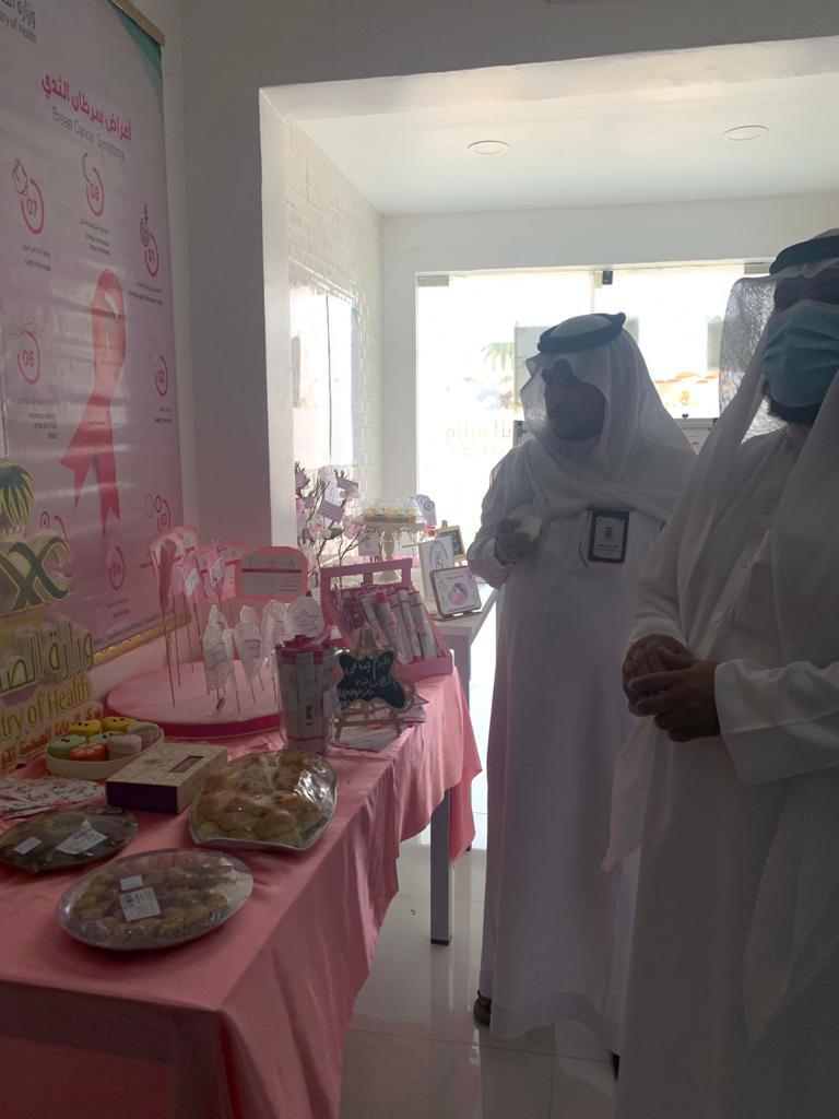 """مركز الحقو : مركز الرعاية الأولية يُنظّم فعالية """"الاسبوع المحلي للرضاعة الطبيعية وسرطان الثدي"""" – صور"""