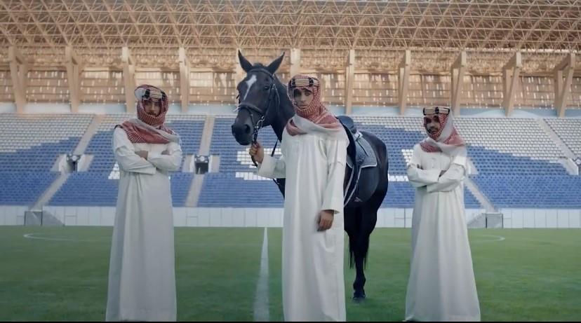 """بمشاركة """"حمدالله"""" و""""أمرابط"""" و""""الغنام"""".. النصر يعلن الاسم الجديد لملعب الجامعة (فيديو)"""