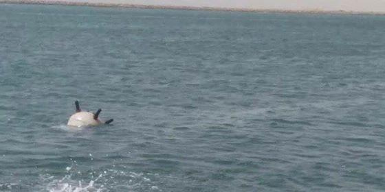 """""""التحالف"""": تدمير لغم بحري زرعته ميليشيا الحوثي الإرهابية جنوب البحر الأحمر"""
