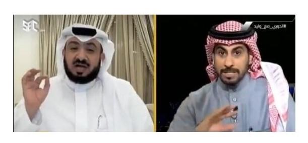 بالفيديو..مشادة كلامية بين محمد العنزي وغُرم العمري بسبب النصر !