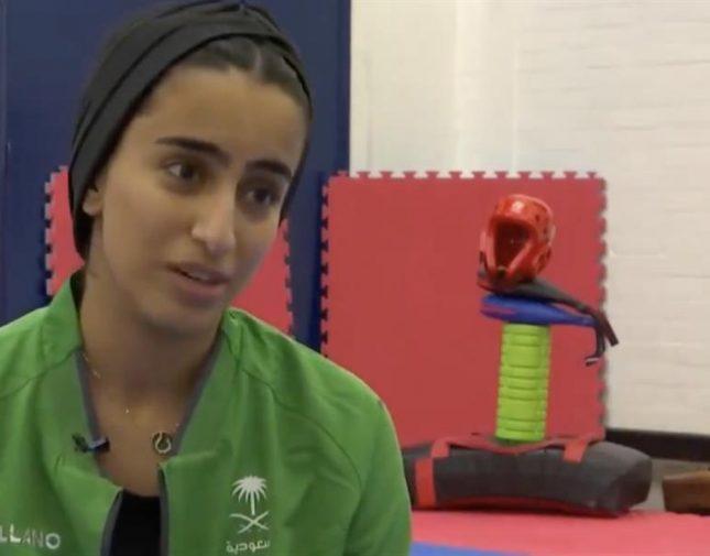 """بالفيديو.. فتاة سعودية تكشف عن أعظم دروس تعلمتها من ممارسة """"التايكوندو"""""""