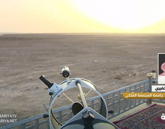 بالفيديو .. مدير مرصد المجمعة: لا يمكن رؤية هلال رمضان غداً الأحد لهذا السبب