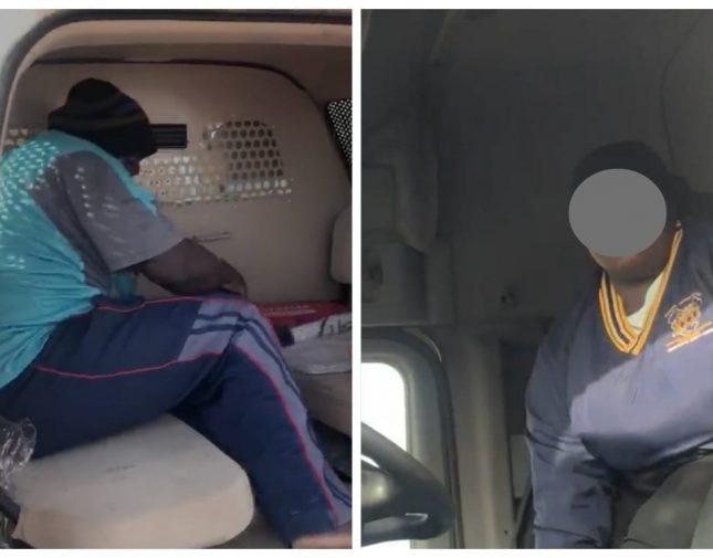 بيان أمني يكشف تفاصيل إخفاء امرأة داخل شاحنة – فيديو