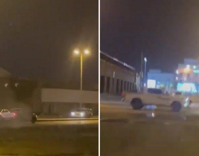 """المرور يُحيل للهيئة المرورية قائد مركبة مارس التفحيط بـ """"محافظة صبيا"""" – فيديو"""