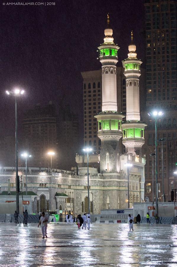 """""""الأرصاد"""" تنفي الفيديوهات المتداولة حول هطول أمطار على مكة والمشاعر المقدسة"""