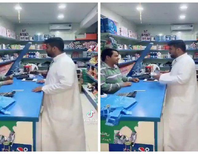 بالفيديو: بائع هندي يتفق مع صديقه للنصب على مواطن .. شاهد ردة فعله عندما علم أنه يتحدث الهندية!