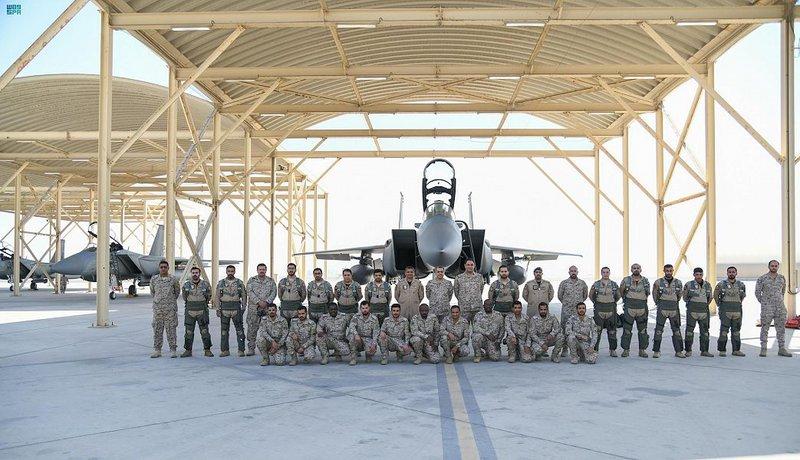 اكتمال وصول القوات الجوية السعودية للمشاركة بتمرين الحرب الصاروخي بالإمارات